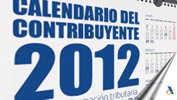 Calendario del Contribuyente 2012