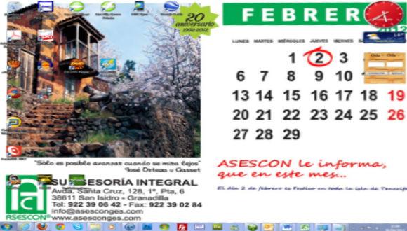 Wallpaper Febrero 2012